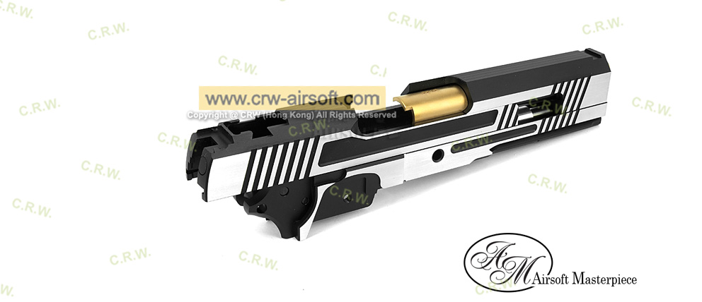 Airsoft Masterpiece 2 tone TWO TWO Standard Kit with Gold Barrel for